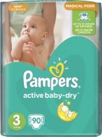 Фото - Подгузники Pampers Active Baby-Dry 3 / 90 pcs