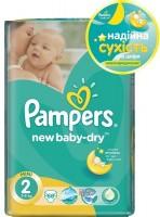 Фото - Подгузники Pampers New Baby-Dry 2 / 68 pcs