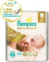 Фото - Подгузники Pampers Premium Care 2 / 80 pcs
