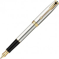 Ручка Parker Sonnet 08 Stainless Steel GT FP