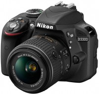 Фотоаппарат Nikon D3300 kit 18-55 + 55-200