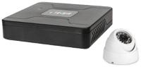 Комплект видеонаблюдения Tecsar AHD 1OUT Dome