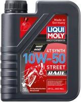 Моторное масло Liqui Moly Motorbike 4T Synth Street Race 10W-50 1L