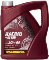 Моторное масло Mannol Racing+Ester 10W-60 4L