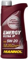 Моторное масло Mannol Energy Ultra JP 5W-20 1L