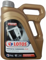 Моторное масло Lotos Synthetic Turbodiesel 5W-40 5L
