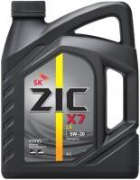 Моторное масло ZIC X7 LS 5W-30 4L