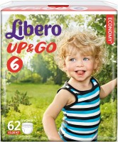Фото - Подгузники Libero Up and Go 6 / 58 pcs