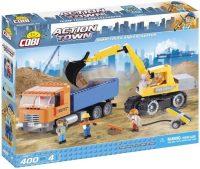 Фото - Конструктор COBI Dump Truck and Excavator 1667