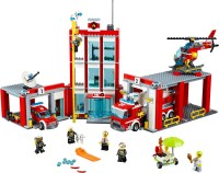 Фото - Конструктор Lego Fire Station 60110