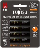 Фото - Аккумуляторная батарейка Fujitsu 4xAA 2450 mAh