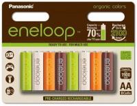 Аккумуляторная батарейка Panasonic Eneloop Organic 8xAA 1900 mAh