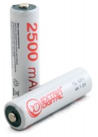 Аккумуляторная батарейка Extra Digital 2xAA 2500 mAh