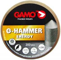 Пули и патроны Gamo G-Hammer 4.5 mm 1.0 g 200 pcs