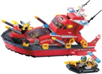Конструктор Brick Water Spray Fire Boat 906