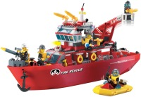 Конструктор Brick Multi-Function Fire Ship 909