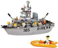 Фото - Конструктор Sluban Navy Destroyer M38-B0125