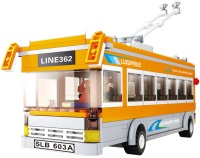 Конструктор Sluban Trollebus M38-B0332