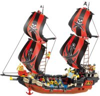 Фото - Конструктор Sluban Ship Black Pearl M38-B0129