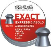 Пули и патроны JSB Exact Express Diabolo 4.5 mm 0.51 g 500 pcs