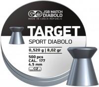Пули и патроны JSB Target Sport Diabolo 4.5 mm 0.52 g 500 pcs