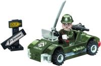 Конструктор Brick Small Military 803