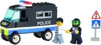 Конструктор Brick Escorting Police Truck 126
