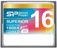 Карта памяти Silicon Power Superior CompactFlash 1000X 16Gb