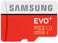 Карта памяти Samsung EVO Plus microSDHC UHS-I 32Gb