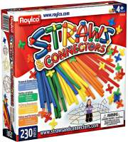 Конструктор Roylco Straws and Connectors (230 pieces) R6085