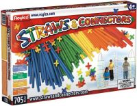 Фото - Конструктор Roylco Straws and Connectors (705 pieces) R6090