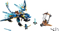 Фото - Конструктор Lego Jays Elemental Dragon 70602
