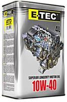 Моторное масло E-TEC ATD 10W-40 4L