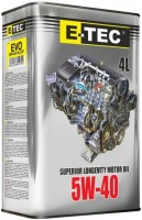 Моторное масло E-TEC EVO 5W-40 4L