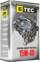 Моторное масло E-TEC SSM 15W-40 4L