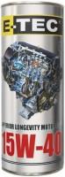 Моторное масло E-TEC STD 15W-40 1L
