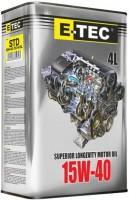 Моторное масло E-TEC STD 15W-40 4L