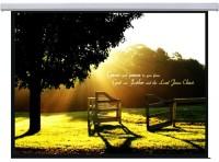 Проекционный экран Lumi Standard Electric 4:3 200x150