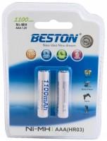 Аккумуляторная батарейка Beston Ready To Use 2xAAA 1100 mAh