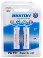 Аккумуляторная батарейка Beston Ready To Use 2xAA 2500 mAh