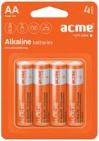 Аккумуляторная батарейка ACME 4xAA Alcaline