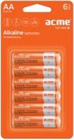Аккумуляторная батарейка ACME 6xAA Alcaline