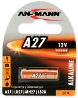 Аккумуляторная батарейка Ansmann 1xA27