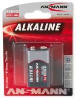 Аккумуляторная батарейка Ansmann Block E 1xKrona