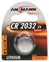 Аккумуляторная батарейка Ansmann 1xCR2032