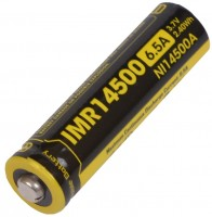 Аккумуляторная батарейка Nitecore NL14500A 650 mAh