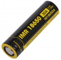 Фото - Аккумуляторная батарейка Nitecore NL18650A 2000 mAh