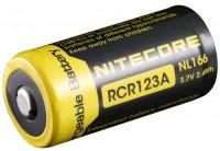 Аккумуляторная батарейка Nitecore 1xCR123 650 mAh