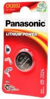 Аккумуляторная батарейка Panasonic 1xCR-2032EL