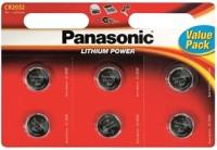 Фото - Аккумуляторная батарейка Panasonic 6xCR-2032EL
